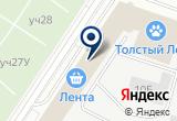 «Салон энергосберегающих окон REHAU» на Яндекс карте Санкт-Петербурга