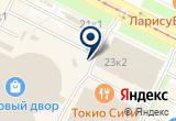 «Стрелковый тир» на Яндекс карте Санкт-Петербурга