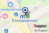 «ООО СЗКС» на Яндекс карте Санкт-Петербурга