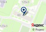 «Центр тяжести» на Яндекс карте Санкт-Петербурга