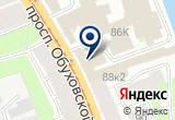 «Любимый городСПб» на Яндекс карте Санкт-Петербурга