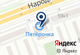 «Супер Печи» на Яндекс карте Санкт-Петербурга