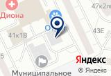 «Индустрия металлической мебели» на Яндекс карте Санкт-Петербурга