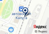 «Комната длительного отдыха пассажиров ст. Калуга-1» на Yandex карте