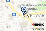 «Суворовская птицефабрика» на Yandex карте