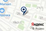 «Шок-Шоу» на Яндекс карте Москвы