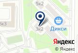 «Файерсшоп» на Яндекс карте Москвы
