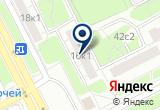 «Филевский парк, автобусная станция» на Яндекс карте Москвы