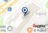 «Интерпринт» на Яндекс карте Москвы