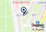 «Технология индустрии м» на Яндекс карте Москвы