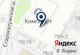 «Д & м» на Яндекс карте Москвы