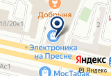 «Свет-электротехника» на Яндекс карте Москвы