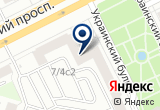 «Детский сад №1128» на Яндекс карте Москвы