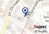 «Федеральная фондовая корпорация, ОАО» на Яндекс карте Москвы