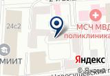 «Ошер бизнес-клуб» на Яндекс карте Москвы