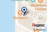 «Пышка Доната, кафе» на Яндекс карте Москвы