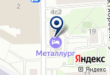 «МЕТАЛЛУРГ ГОСТИНИЦА» на Яндекс карте