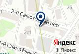 «Московский областной банк ООО» на Яндекс карте Москвы