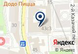 «ЮниТра, ООО» на Яндекс карте Москвы