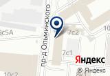 «Русский запад ООО» на Яндекс карте Москвы