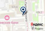 «Франбел, ООО» на Яндекс карте Москвы