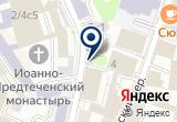 «ЦентрРегионПроект, некоммерческое партнерство» на Яндекс карте Москвы