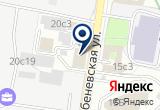 «Экоклимат» на Яндекс карте Москвы