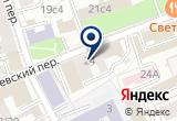 «Экорт» на Яндекс карте Москвы