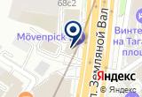 «Юрагентство» на Яндекс карте Москвы