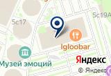 «Праздник.сом» на Яндекс карте Москвы