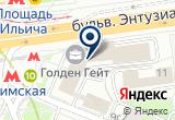 «Юридическая компания, Law & Wise» на Яндекс карте Москвы