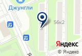 «Якорная, автобусная станция» на Яндекс карте Москвы
