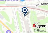 «МосАвтоСпас-24, служба техпомощи» на Яндекс карте Москвы