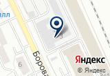 «Фабрика арт» на Яндекс карте Москвы