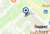«Субмарина-боулинг» на Яндекс карте Москвы