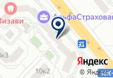 «Сателит» на Yandex карте