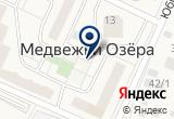 «Загородный клуб Медвежьи Озера» на Yandex карте