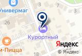 «Курортный, отель» на Яндекс карте