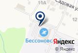 «Бессоновский» на Яндекс карте