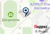 «Спорт, гостиница» на Яндекс карте