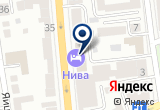 «Нива» на Yandex карте