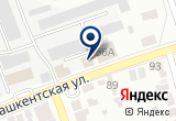 «Ковент-Оренбург» на Yandex карте