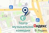 «Государственный областной театр музыкальной комедии» на Yandex карте