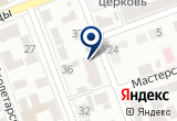 «Радуга Бонус» на Yandex карте