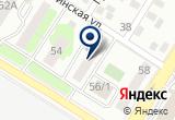 «Оренаква» на Yandex карте