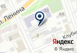 «Пантеон» на Яндекс карте