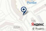 «Рыбка, центр детского плавания» на Яндекс карте