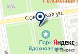 «Вдохновение, парк» на Яндекс карте