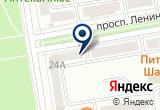 «Гладиолус, магазин цветов» на Яндекс карте