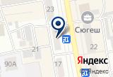 «ТНТ-Абакан, телеканал» на Яндекс карте